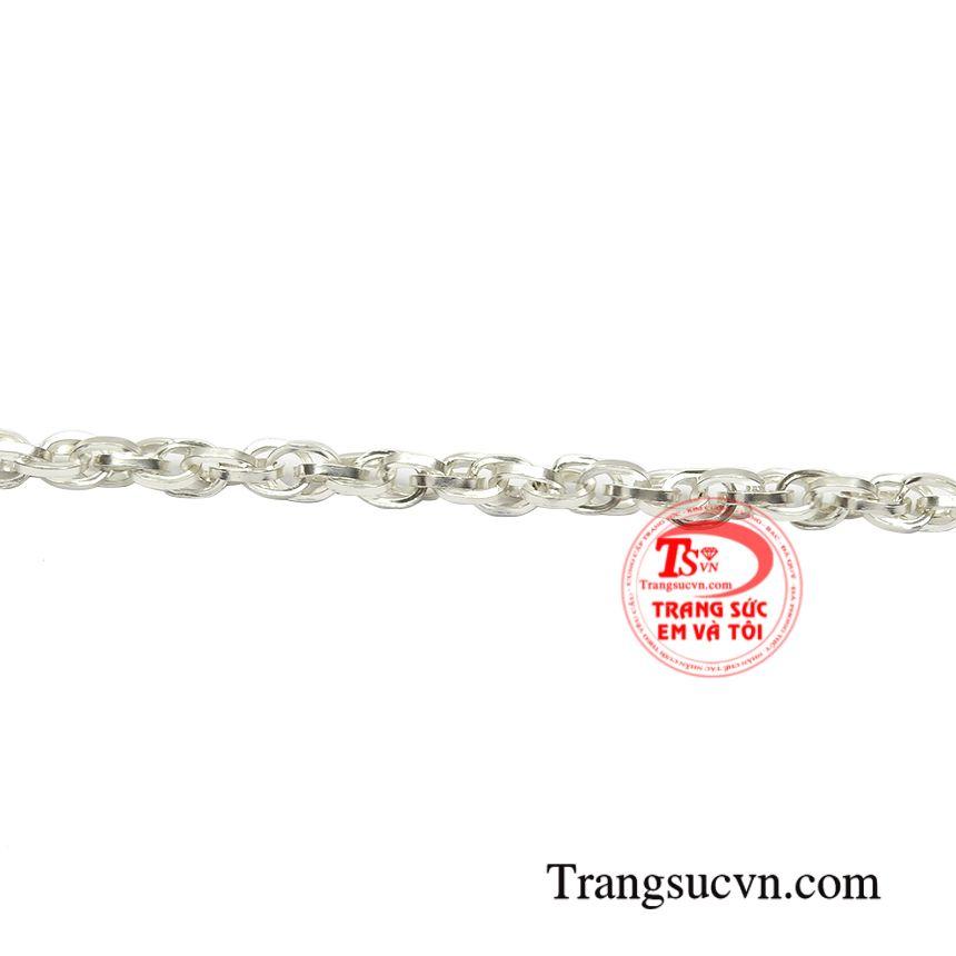 Dây chuyền bạc phong cách độc đáo sự lựa chọn hoàn hảo dành cho phái mạnh.